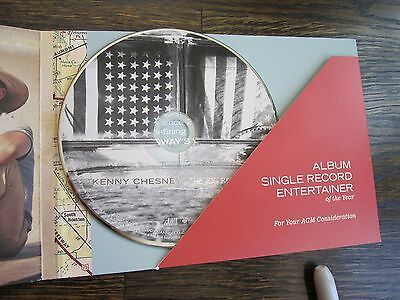 """Kenny Chesney Industry Only CD/Book Mailing """"ACM Consideration"""" The Big Revival"""