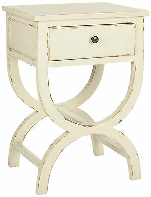 Safavieh Madeira Side Table in Off White (A78-D1D)