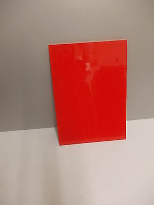 4 mm Red copolymer Polypropylene sheet A5 A4 A3 Plastic Engineering Plate
