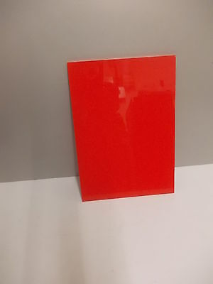 4Mm Red Polypropylene Sheet A4, A3, A5 Panel Engineering Material Plastic Plate