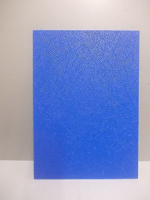 Blue Embossed 6Mm  Polypropylene Sheet A4, A3, A5 Panel Engineering Material