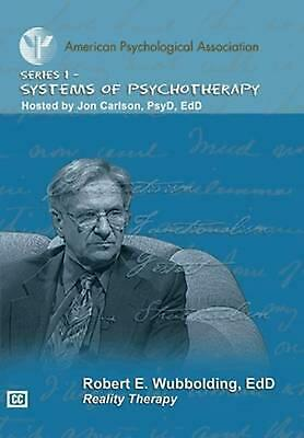 Reality Therapy by Robert E. Wubbolding Free Shipping!