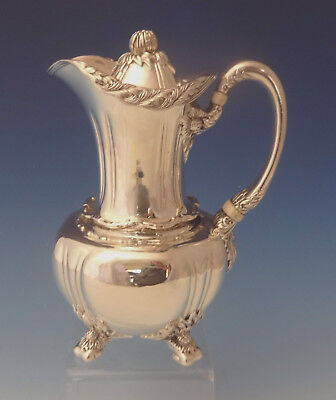 Chrysanthemum by Tiffany & Co. Sterling Silver Chocolate Pot / Pitcher (#0150)
