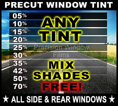 PreCut All Sides & Rears Window Film Any Tint Shade for TOYOTA Car Glass