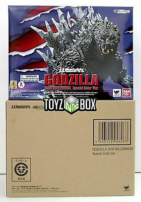 In STOCK S.H. MonsterArts Godzilla 2000 Millennium Special Color Action Figure