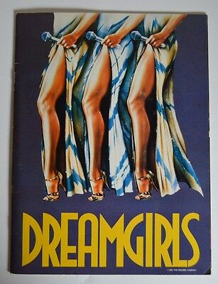 Dreamgirls - National Tour Souvenir Program/Programme