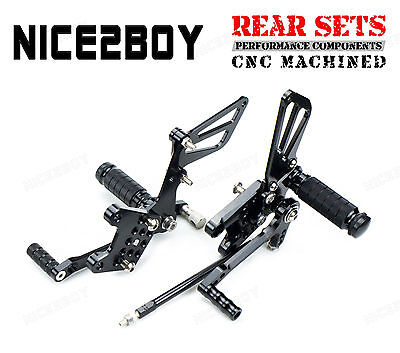 CNC Billet Rearset Foot Peg Rear Sets For Suzuki SV650/S SV650A/SA ABS 03-10 11