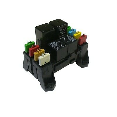 ATC ATO Blade Fuse and Mini Relay Block Panel Holder 12v Non-bussed w/terminals