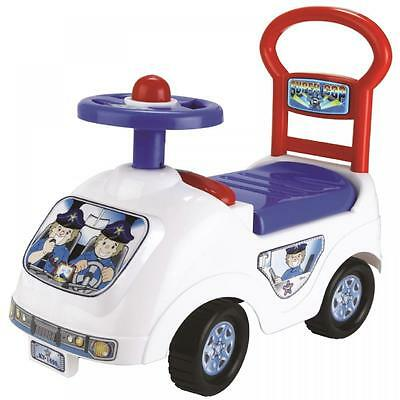 Toddler Infant Ride On Police Cop Car Vehicle Truck Push Along Boys Girls Toy