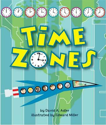 Time Zones by David A. Adler (English) Paperback Book Free Shipping!