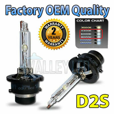 Mazda 6 07-on Sport D2S HID Xenon OEM Replacement Headlight Bulbs 66240
