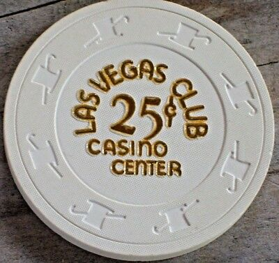 .25 Fractional 15Th Edt Gaming Chip From The Las Vegas Club Casino Las Vegas