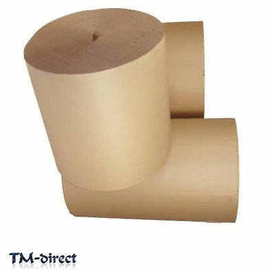 Corrugated Strong Cardboard Paper 300 500 600 750 900 mm Thick Roll