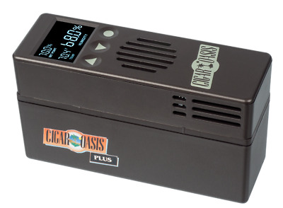 CIGAR OASIS Plus Electric Electronic Humidifier + Free Cartridge and Shipping