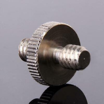 "1/4"" Male Threaded to 1/4"" Convert Screw Adapter for Camera Tripod & Head Holder"