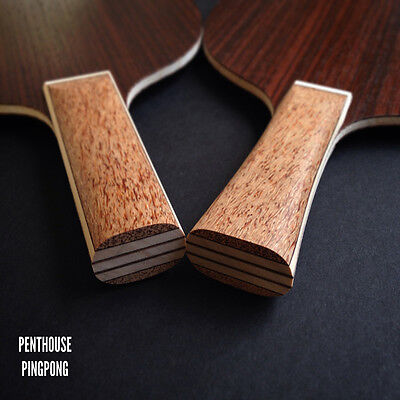 PENTHOUSE PINGPONG custom 5-ply Carbonate Rosewood Blade