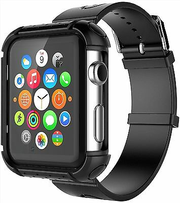 Apple Watch 2 42mm Anti scratch Rugged Protective Strap Band ShockProof No Slip