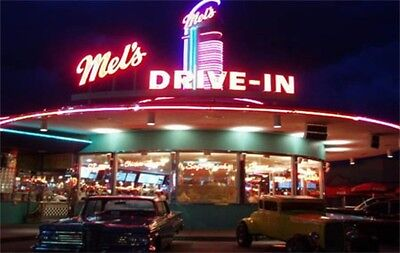 1970s American Graffiti Mel's Drive-In fridge magnet - new!