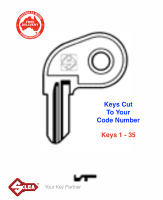 TOYOTA GREAT WALL Keys Supplied To Code Number 10001-15000 Non Remote
