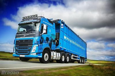 2013+ Volvo FH4 Globetrotter XL Roof Light Bar Truck + 7 Super Slim LED