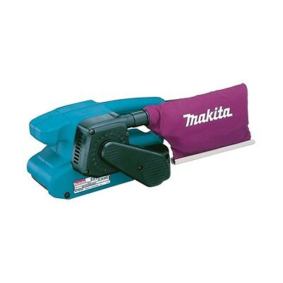 """Makita 9911 belt sander 3"""" 76mmX457mm with dust bag supplied 110 or 240"""