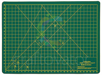 A4 Cutting Mat Self Healing Non Slip Craft Quilting Printed Grid Lines Board