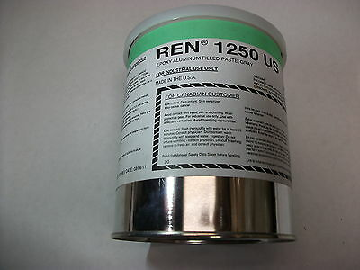 Huntsman Epoxy Aluminum Filled Paste (Ren 1250US - Gray) 1 Quart