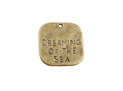 10PCs Dreaming Of The Sea Wholesale Silver Plated Pendant Charms C8907A