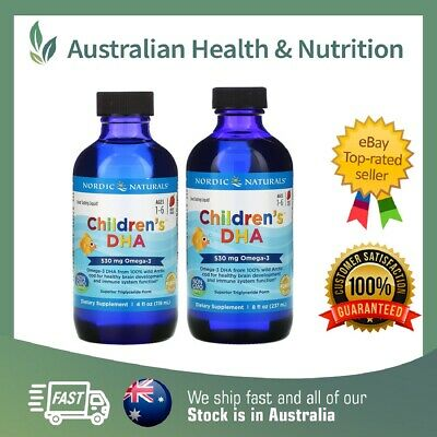 Nordic Naturals - Children's Dha Liquid - High Quality - All Sizes Available
