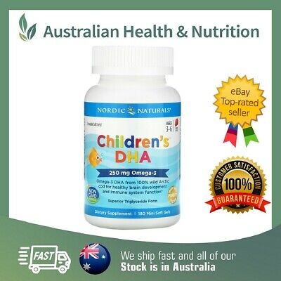 Nordic Naturals - Children's Dha Capsules - High Quality - All Sizes + Sample