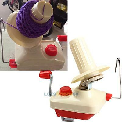New Fiber String Yarn Skein String Winder Handle Hand Operated Ball Machine Wool