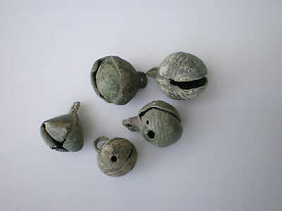 Set 5 RARE ANCIENT Viking Ringing Bells Pendant Amulet  10 - 11 century AD  #4