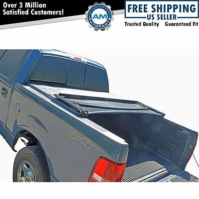 Tonneau Cover Soft Tri Fold for Chevy GMC Sierra Silverado Truck 5.8ft Bed New
