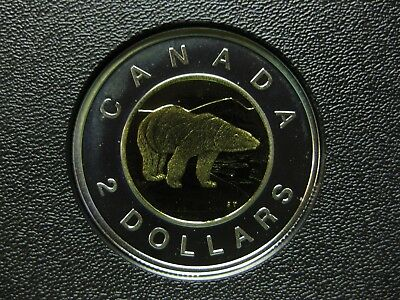 2006 Canadian Silver Proof Toonie ($2.00) **Key Date** Double Date 1996-2006