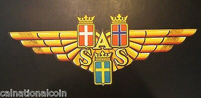 Scandinavian Airlines Vintage Logo Decal