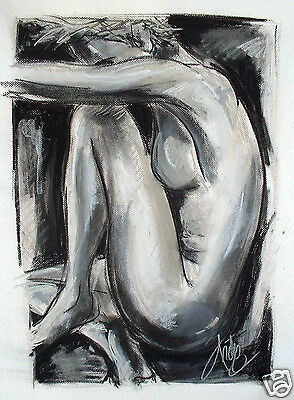 poster art painting for glass frame from Australia print By Andy baker COA