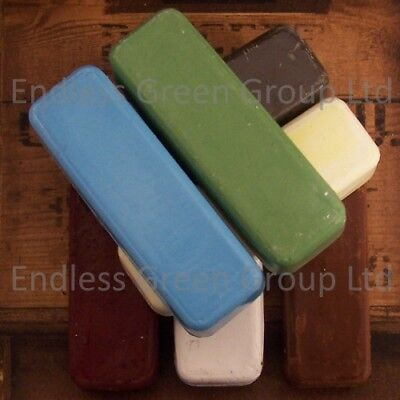 Buffing Bar - Polishing compound / Buffing wax polish soap - CHOICE OF 110g bar
