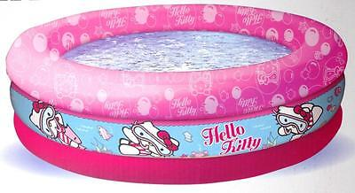 Hello Kitty Childrens Baby Toddler Inflatable Paddling Swimming Pool New