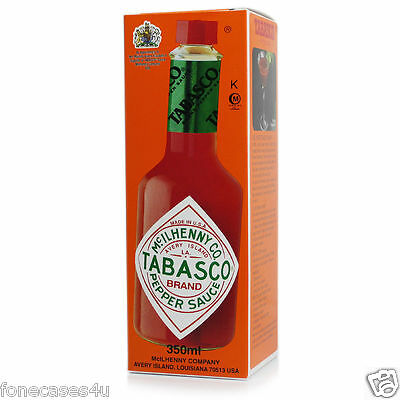 Tabasco Hot Brand Pepper Sauce 350ml Spicy Chilli