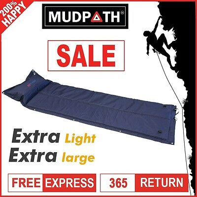 OzEagle Self Inflating Mattress Joinable Inflatable Foldable Air Mat Camping Bed