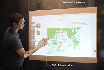 60-Inch Projection Screen with Magnetic Backing for IS-01