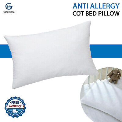 New Anti Allergy Baby Nursery Toddler Junior Cot  Pillow 40 CM X 60 CM