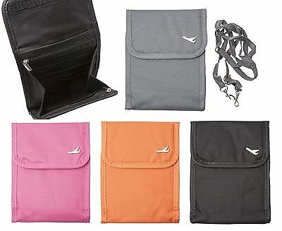 Passport Holder Travel Bag Wallet Purse Document Organiser Ticket Shoulder Bags