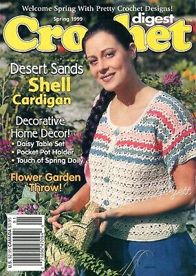 crochet patterns Crochet Digest Spring 1995 ~ 20