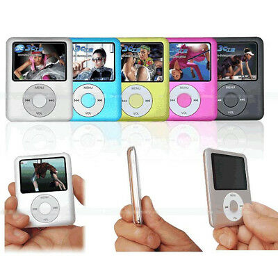 ultra slim mp4 player mp3 Lettore video radio FM + cuffie e cavo zw