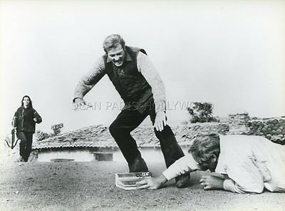 James Bond 007  Roger Moore For Your Eyes Only 1981 Vintage Photo Original #4