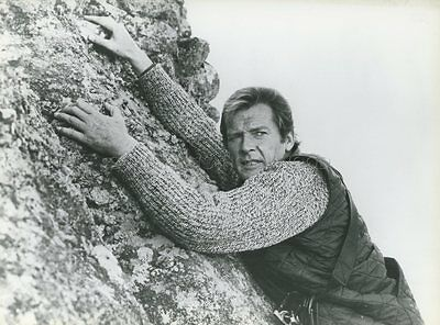 James Bond 007  Roger Moore For Your Eyes Only 1981 Vintage Photo Original #7
