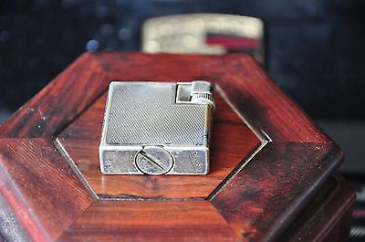 Silver Plated D unhill Savory Lighter