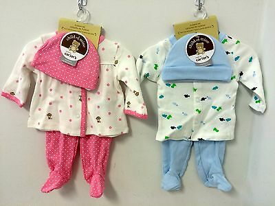 New Carter's Sleepers Outfits Size Newborn Boys or Girls Reborn Baby Also