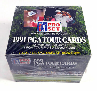 1991 Pro Set PGA Tour Cards Golf Box